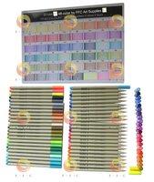 free shipping 48-Color set of Sketch Fineliner, Assorted set colored liner pen, line drawing pens, Liner Marker water based ink