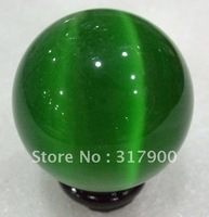 40mm Green Mexican Opal Sphere,Crystal Ball