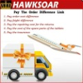 Hawksoar Team store  Pay the order difference link----1USD