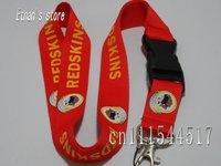FREE SHIPPING Brand New Football/Baseball  neck lanyard mobile key strap