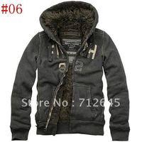 Free Shipping HOT 1pcs/lot Brand New Men's Sweater Hoodies & Sweatshirts Jacket Coat Navy Size S,M,L,XL/#06