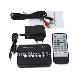 720p HD Media Center RM/RMVB/AVI/MPEG TV Player with USB and SD/MMC Port(China (Mainland))