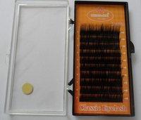 M801 1 stripes MINGJIE 10 boxes 0.08 C curl  8mm 10mm 12mm  false eyelashes eyelash extension Wholesale! Free shipping !
