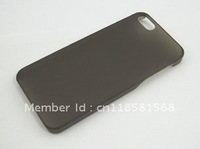 Ultra Thin slim Hard Matte Case Transparent shell Cover Skin FOR  iPhone 5 ACCESSORY Black