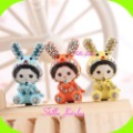 Stella- High grade Mochichi cartoon style earphone jack plug,3 colors,12 pcs/lot,Support wholesale &amp; retail
