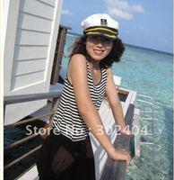 3 colors navy style cap fashionable performance cap captain cap sailor hat