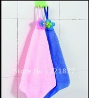 free shipping Superfine fiber towel hanging wiping towel cloth