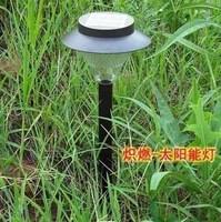 16led solar lights solar garden  lawn lamp high brightness garden lights 700g