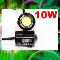 Newest Car DIY Led daytime lights 10W high power DRL Running Lamp reversing radar design Eagle eye Car head rear lights