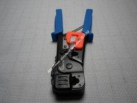 RJ45 CAT5E LAN Network Ratchet Wire Cable Crimper Pliers Tool Cutter