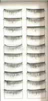 Free Shipping For Ladies' False Eyelashes 10 Pairs Black Thick Volume Fake False Eyelashes Lashes