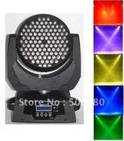 2pcs/Lot,108x3W RGBW LED Moving Head Wash Light DMX 12CHS (R27,G27,B27,W27)