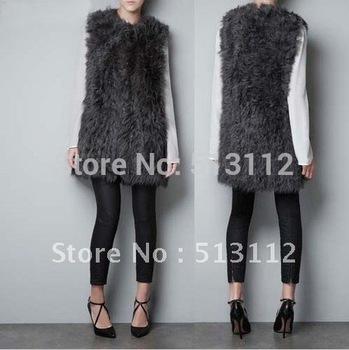 Vests fox hair size xs s m l xl xxl wt029 free shipping by hk post