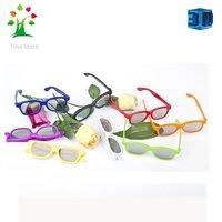 50 pc/lot  Free shipping  Passive RealD Polarized 3D glasses
