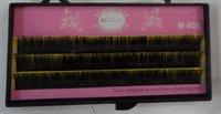 M-805 MINGJIE 5 boxes 8mm,10mm,12mm 0.15 false eyelashes eyelash extension Free shipping !
