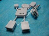 free shipping HI-SPEED USB 2.0 4 port USB HUB Doll shape usb hub