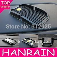 Hot Sale Black PU Car GPS Navigation Frame Anti-Slip Non Slip Mat For Phone PDA Mp3 Mp4 Car