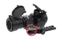 Tactical black M3 1X32 Red/Green/Blue Dot Sight Scope AP Mount Aimpoint Style,free shipping