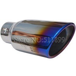 H-K-S Titanium 304 Stainless Steel Auto Exhaust Tip, Muffler Tube Retail and Whoesale(China (Mainland))