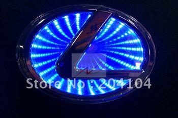 Высокое качество авто логотип свет для LEXUS все модели автомобиля значок свет авто свтеодиодный фонарик авто эмблема светодиодные лампы автоаксессуары