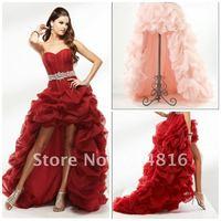 New Fashion Dramatic V Neck Applique Long Mermaid Sleeve Prom Dresses Celebrity Evening dress Inspired By Najwa Karam TB 06
