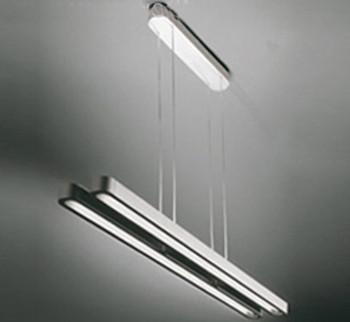 Modern brief S60cm Double pendant lighting Aluminum alloy pendant light official Fluorescent lamps T5 electricity saving lamp