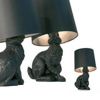 Moooi black-and-white rabbit table lamp bedside table lamp