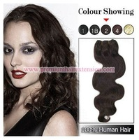 "16""18""20""22""24""26"" Body Wave human hair weft extensions remy weft hair extensions weaving # 2 dark brown 100g/pc 3pcs DHL FREE"
