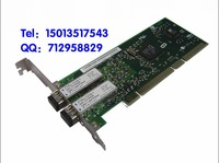 PCI-X Optical fiber network card 10/100/1000M Single fiber LC  Port  2 Fiber Channel