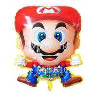 Free Shipping 50pcs/lot  Mario balloons,Helium Balloon,Foil balloon