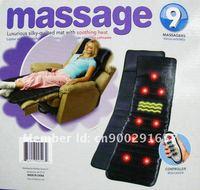 FREE Shipping! 2012 High Quality Vibration& Heating Function Massage Mattress