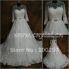 JJ2874  Beaded Long Sleeves Ball Gown wedding Gown  2013