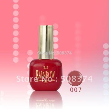 Free Shipping:CCO 150 colors  Rainbow Soak Off uv gel(18pcs gel polish )