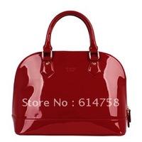 free shipping 2012  hot selling women's patent leather handbags fashion handbags  05