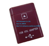 Free Shipping/1pcs/High Quality USB OTG Converter Adapter Kit Red for Asus Eee Pad TF101  TF201 TF300 40pin to USB Female  New