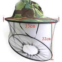 Midge Mosquito Fly Insect Hat Fishing Camping Mask Face Protect Cap Cover[030147]