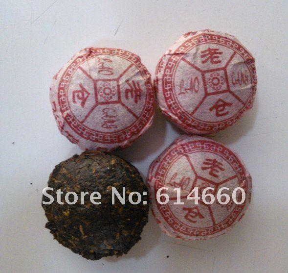 Free shipping 350g Red tea mini Pu er tea 70pcs bag