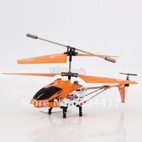 Fashion Sale!  New 100% Orange Color 3.5 Channel Remote Control Micro/Mini Helicopter With Gyro 3.5CH RC Heli