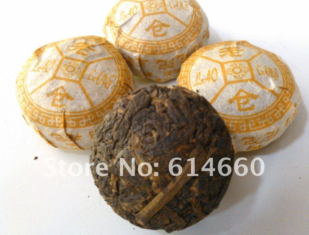 Free shipping 350g Jasmine Flower mini Pu er tea 70pcs bag