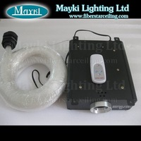 888PCS three different  mixed diameter 45W RGB LED fiber optic lighting kit+Free shipping