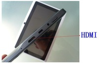 "With OTG cable! NEW 7"" android 4.0 Action ATM7013 1.2G dual camera 1080P HDMI 512M 4GB Capacitive Screen tablet pc"