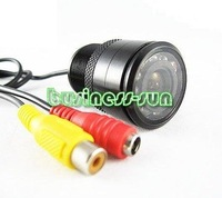 5pcs 28mm diameter hole Parking Rear view Car Camera 7-LED  Night Vision Camera waterproof