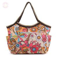 2012 waterproof nylon one shoulder handbag dumplings female Large fashion women's handbag db32