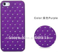 DHL free shipping 50pcs/lots Luxury Case For Iphone5 2012 Hot Sale For Iphone5 Case Diamond