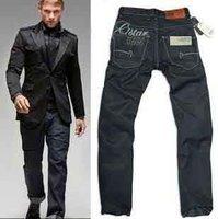 2014 Men's GS jeans,Brand black denim jeans,men's straight denim pants.Top quality men's denim trousers with tags,us size #8101