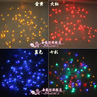 Free ship 10m colorfull mini led flasher christmas lights strip,100 LED String Fairy Light Halloween/Christmas White US Plug