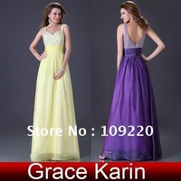 Вечернее платье Grace Karin Women Sexy Fashion Green, Blue, Red Party Long Stunning Strapless Slit Prom Evening Dress 8 Size CL2588
