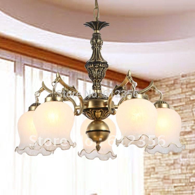 led lamp with ceiling design modern glass chandelier bedroom