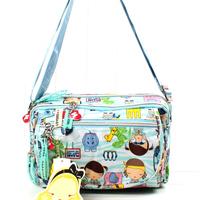 Bag women's handbag HARAJUKU doll juku lovers small messenger bag a21