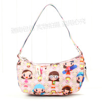 Women's handbag HARAJUKU doll lovers tote bag small shoulder bag 24 a02